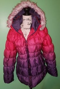 XOXO Ombre Puffer Coat size 18.5